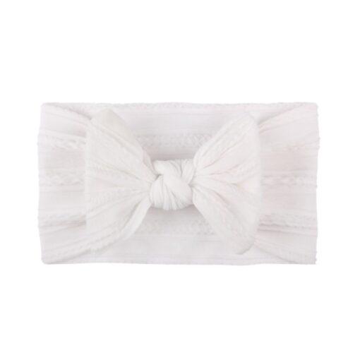 3 5 6 10pcs Children seamless super soft Jacquard nylon headband baby headband cute princess hair 2