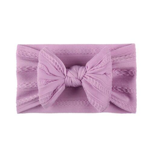 3 5 6 10pcs Children seamless super soft Jacquard nylon headband baby headband cute princess hair 3