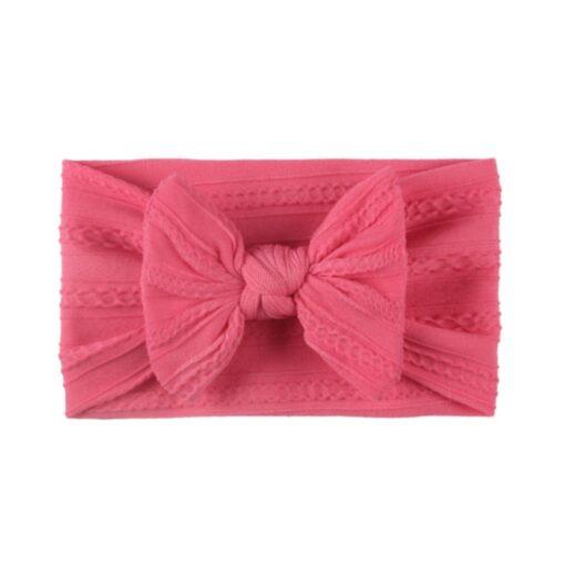 3 5 6 10pcs Children seamless super soft Jacquard nylon headband baby headband cute princess hair 4