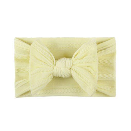 3 5 6 10pcs Children seamless super soft Jacquard nylon headband baby headband cute princess hair 5