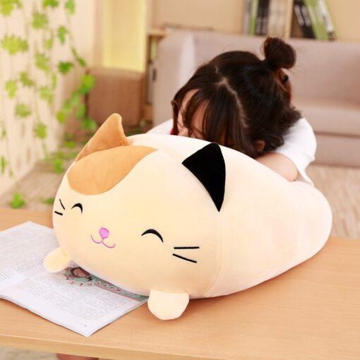 30 60 90cm Soft Animal Cartoon Pillow Cushion Cute Fat Dog Cat Totoro Penguin Pig Frog 3
