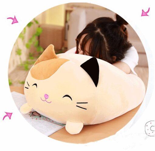 30 60 90cm Soft Animal Cartoon Pillow Cushion Cute Fat Dog Cat Totoro Penguin Pig Frog 4