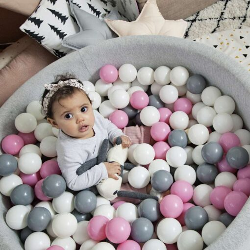 300 Pcs Eco Friendly Colorful Soft Plastic Water Pool Ocean Wave Ball Baby Funny Toys Play 2