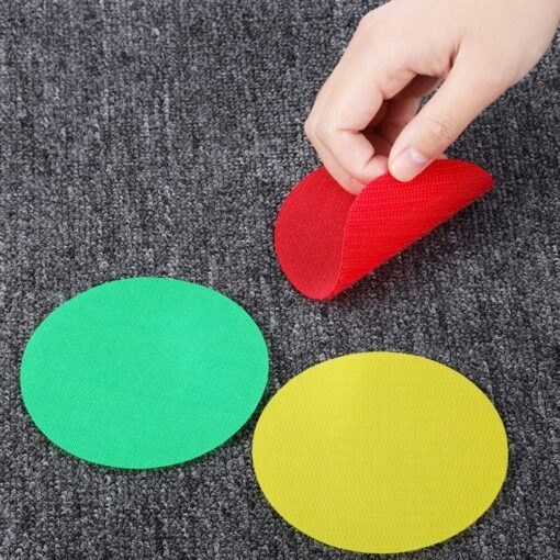 30PC Round Carpet Spot Marker For Teacher Early Educational Classroom Sit Spots Carpet Markers Toy Gift 3