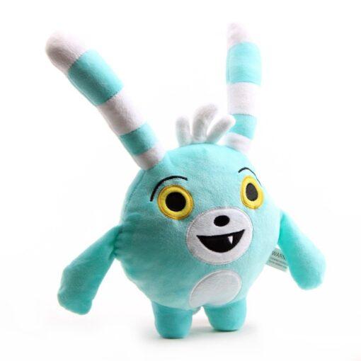 30cm 50cm Cartoon Abby Hatcher Bunny Bozzly Plush Toy Cuddly Lovely Rabbit Blue Stuffed Doll Animal 2