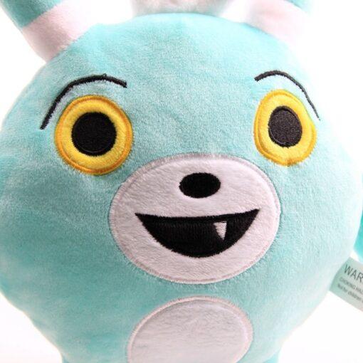 30cm 50cm Cartoon Abby Hatcher Bunny Bozzly Plush Toy Cuddly Lovely Rabbit Blue Stuffed Doll Animal 4