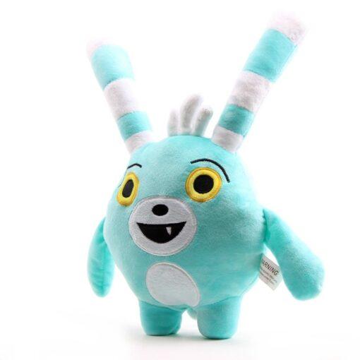 30cm 50cm Cartoon Abby Hatcher Bunny Bozzly Plush Toy Cuddly Lovely Rabbit Blue Stuffed Doll Animal