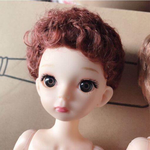 30cm BJD Doll Boy 1 6 Male Doll Short Hair Cute Baby Doll DIY Naked Body 2