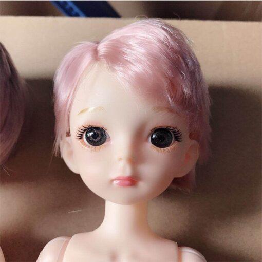 30cm BJD Doll Boy 1 6 Male Doll Short Hair Cute Baby Doll DIY Naked Body 3
