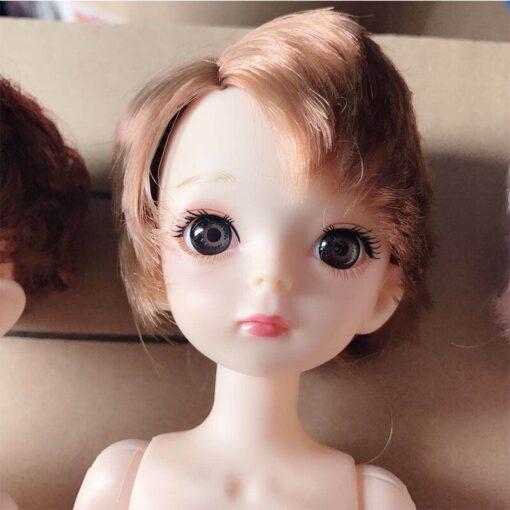 30cm BJD Doll Boy 1 6 Male Doll Short Hair Cute Baby Doll DIY Naked Body 4