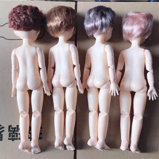 30cm BJD Doll Boy 1 6 Male Doll Short Hair Cute Baby Doll DIY Naked Body 5