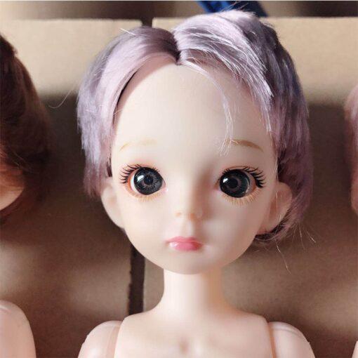 30cm BJD Doll Boy 1 6 Male Doll Short Hair Cute Baby Doll DIY Naked Body