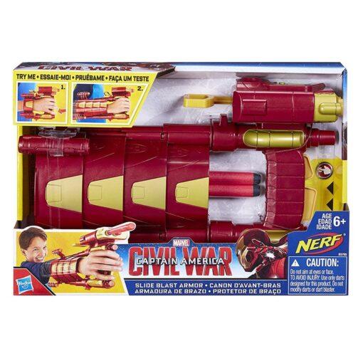 30cm Hasbro Marvel Toys the Avengers 3 Infinity War Captain America Civil War Slide Blast Armor 5