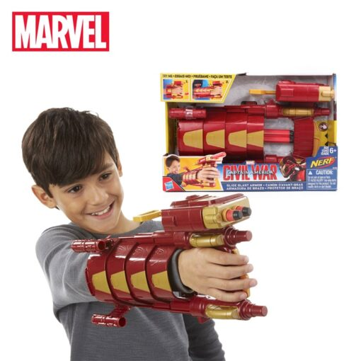 30cm Hasbro Marvel Toys the Avengers 3 Infinity War Captain America Civil War Slide Blast Armor