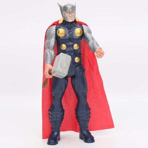30cm Marvel Figure Avenger Endgame Thor Captain Thanos Wolverine Captain Spider Man Iron Man Spiderman Figure 5