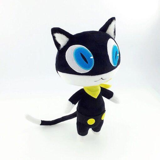 30cm Stuffed Doll Anime Persona 5 P5 Morgana Plush Doll Black Kitty Cosplay Cat Pillow Cushion 2