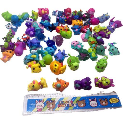 30pcs lot very cute cartoon mini dolls toys Models Randomly sending PVC Action Figures Toys for 3