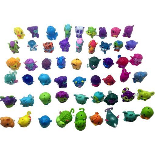 30pcs lot very cute cartoon mini dolls toys Models Randomly sending PVC Action Figures Toys for 4