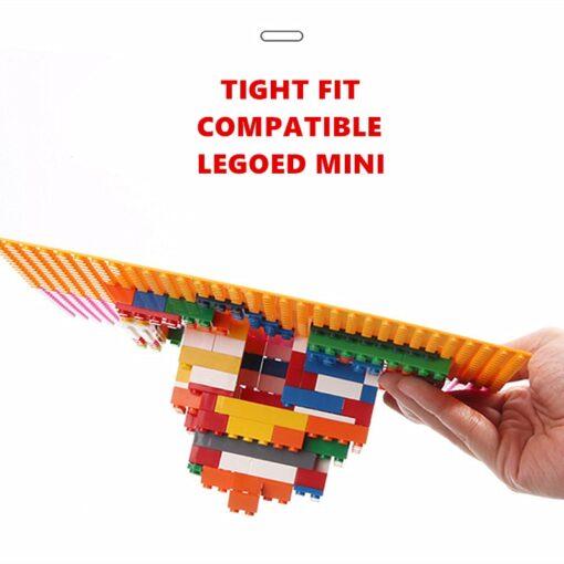 32 32 Dots Plastic Blocks Base Plates Pink Juguetes Compatible City Classic Toys Mini Building Bricks 2