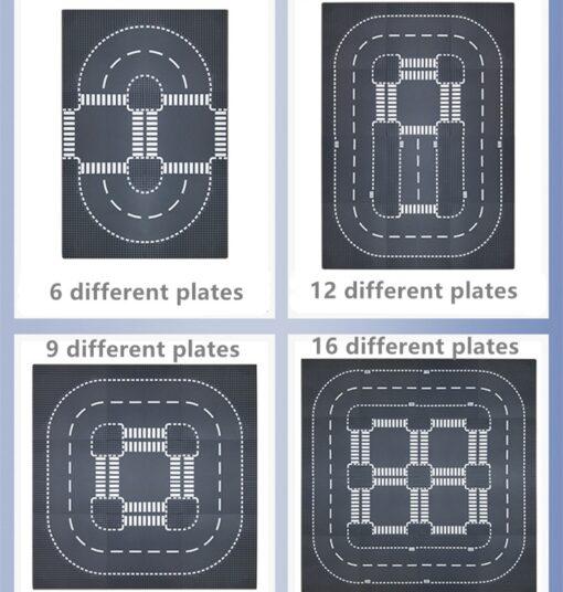 32 32 Dots Plastic Blocks Base Plates Pink Juguetes Compatible City Classic Toys Mini Building Bricks 5