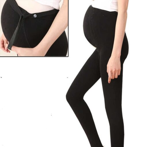 320D Women Pregnant Socks Maternity Hosiery Solid Stockings Tights Pantyhose Spring and autumn pregnant women stockings 4