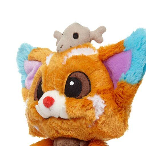 32CM Game League LOL Plush Toys Doll Gnar Plush Soft Stuffed Toys For Children Kids Christmas 3