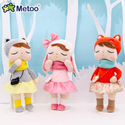 33cm Angela Rabbit Metoo Doll Stuffed Toys Plush Animals Kids Toys for Girls Children Boys Baby 1