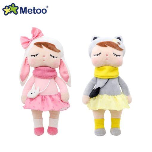 33cm Angela Rabbit Metoo Doll Stuffed Toys Plush Animals Kids Toys for Girls Children Boys Baby 4