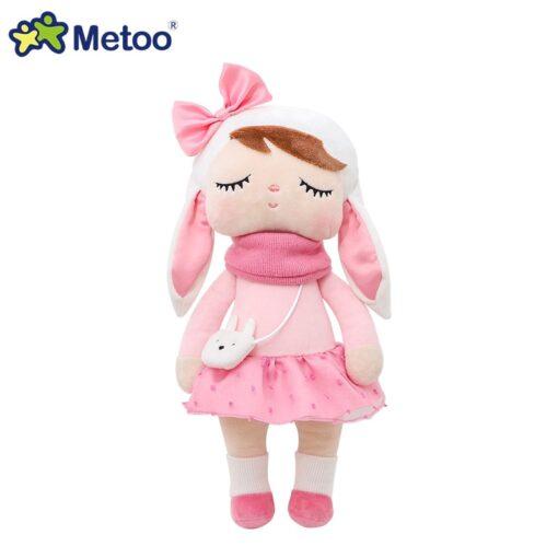 33cm Angela Rabbit Metoo Doll Stuffed Toys Plush Animals Kids Toys for Girls Children Boys Baby 5