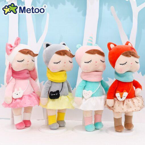 33cm Angela Rabbit Metoo Doll Stuffed Toys Plush Animals Kids Toys for Girls Children Boys Baby