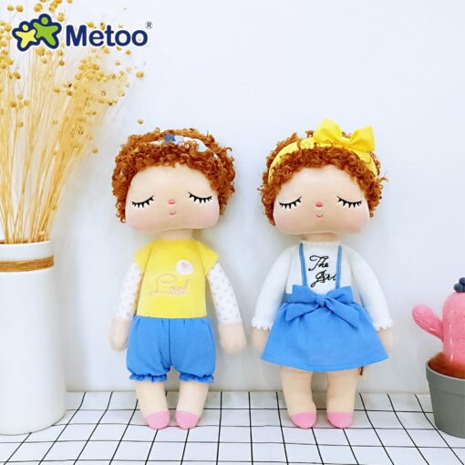 34cm Metoo Doll Stuffed Toys Plush Animals Kids Toys for Girls Children Boys Baby Plush Toys
