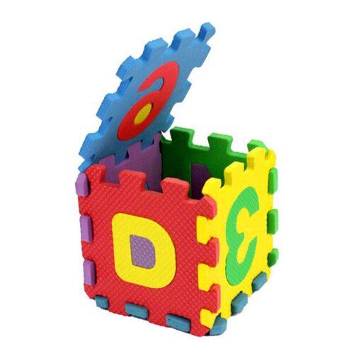 36Pcs EVA Foam Mat Baby Soft EVA Foam Play Mat Numbers Letters Playing Crawling Pad Toys 3