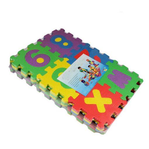 36Pcs EVA Foam Mat Baby Soft EVA Foam Play Mat Numbers Letters Playing Crawling Pad Toys 4