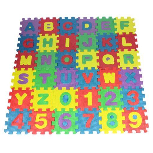 36pcs Alphabet Play Mats Toddler Kids Boy Girl Toys Interlock Soft EVA Foam Puzzle Floor Carpet 1