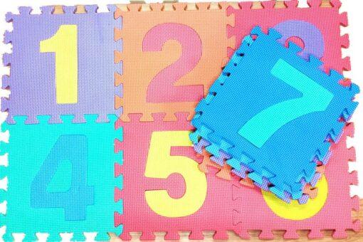 36pcs Set Children Alphabet Letters Numerals Puzzle Colourful Kids Rug Play Mat Soft Floor Crawling Puzzle 1