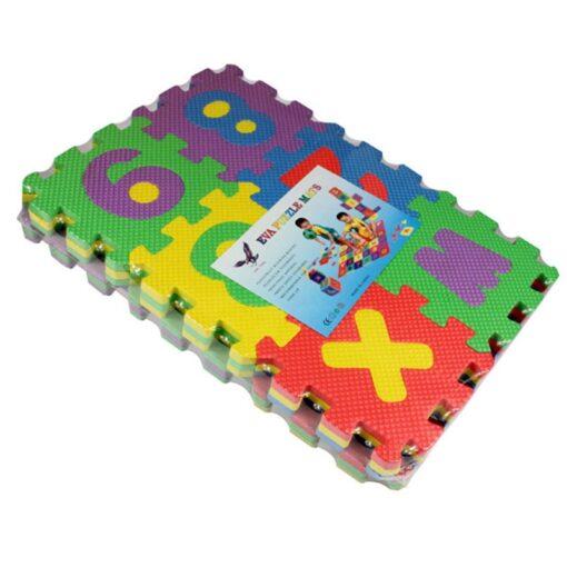 36pcs set Alphanumeric Letter Bath Puzzle EVA Kids Baby Toys New Early Educational Kids Bath Funny 5