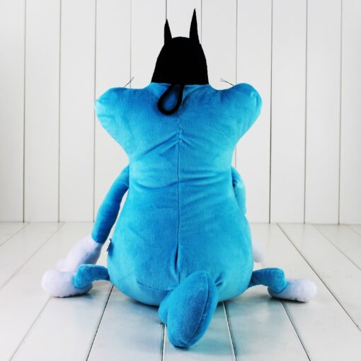 38cm French Cartoon Oggy and the Cockroaches Plush Toy Fat Cat Oggy Stuffed Animal Doll Gift 1