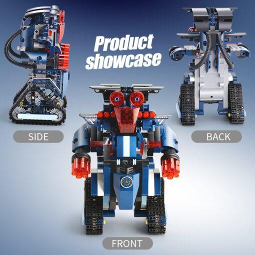 392PCS Creative Electric Remote Control Machinery Building Blocks legoINGlys Technic RC Robot Bricks Toys Hobbies For 2