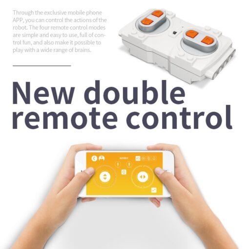 392PCS Creative Electric Remote Control Machinery Building Blocks legoINGlys Technic RC Robot Bricks Toys Hobbies For 5