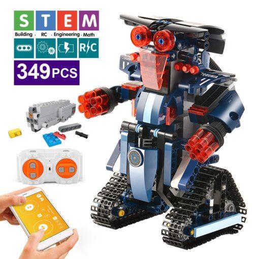 392PCS Creative Electric Remote Control Machinery Building Blocks legoINGlys Technic RC Robot Bricks Toys Hobbies For