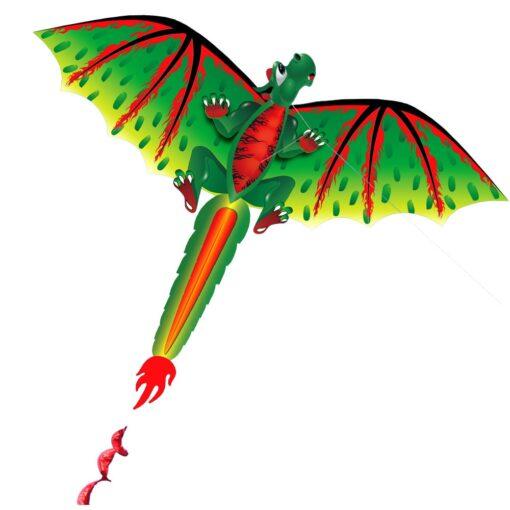3D Dragon 100M Kite Flying Single Line With Tail Kites Outdoor Children Fun Toy Kite Family 1