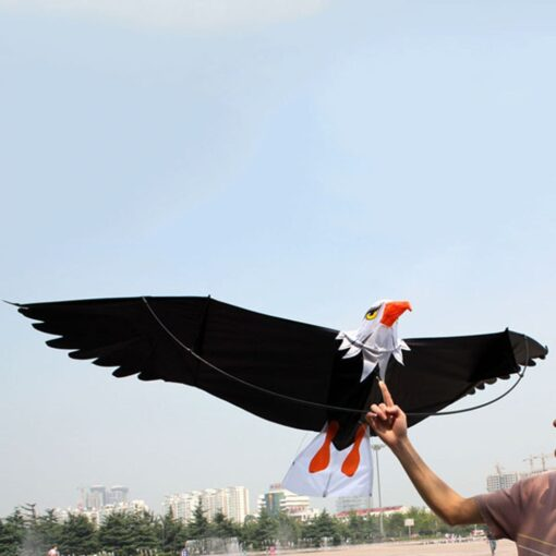 3D Eagle Kite Kids Toy Fun Outdoor Flying Activity Game Children Funny Kids Outdoor Toys Big 1