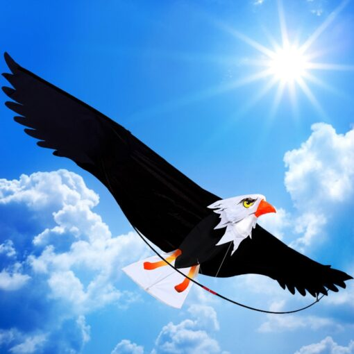 3D Eagle Kite Kids Toy Fun Outdoor Flying Activity Game Children Funny Kids Outdoor Toys Big 2