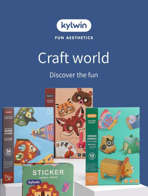 3D Paper cut Educational Origami Paper Cutting Book Crafts Children Handmade Toys Kindergarten Fun Puzzle Baby 1