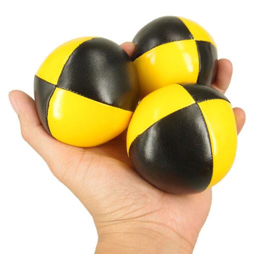 3PCS Net Set Suit Professional Juggling Ball Acrobatics Toss Ball Educational Toy Children Fun Sports Pu 1