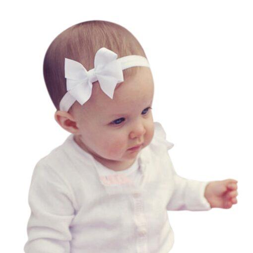 3Pcs Kids Elastic Flower Headband Headbands Hair Girls Baby Bowknot Hairband Baby Girl Accessories Set Dropshipping 2