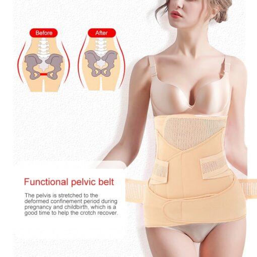3in1 Belly Abdomen Pelvis Postpartum Belt Body Recovery Belly Slim after childbirth Waist delivery after Waist 5