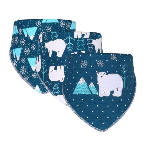 3pcs Set Newborn Baby Saliva Towel Adjustable Infant Bibs Burp Cloth Reusable Baby Triangle Bibs Washable 5
