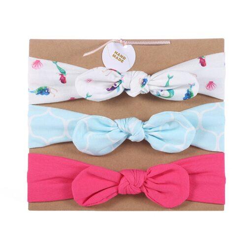 3pcs lot baby girl headband for newborn hair band elastic babies accessories cotton headwear hair bands 4