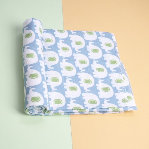 4 Pcs Lot 100 Cotton Flannel Receiving Baby Blanket Soft Baby Muslin Diapers Newborn Swaddle Blanket 3